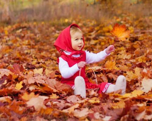 Краски осени: детская фотосессия 2