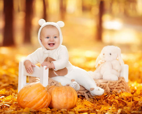 Краски осени: детская фотосессия 10