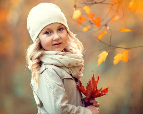 Идеи для детской фотосессии осенью 4
