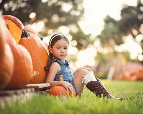 Осенняя фотосессия с детьми 6