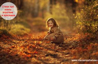 Стихи про осень короткие и красивые