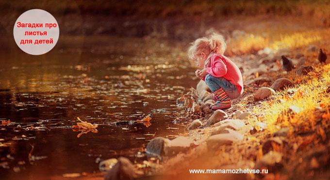 Загадки про листья для детей