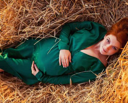 Фотосессия беременных на природе 10