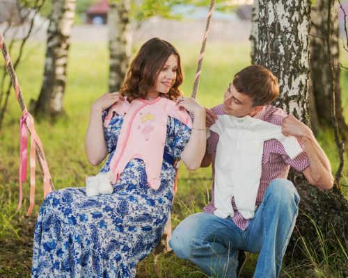 Краски осени: фотосессия для беременных 3