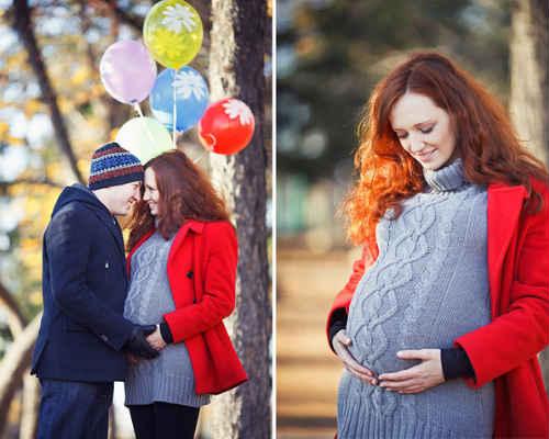 Осенняя фотосессия для беременных 10