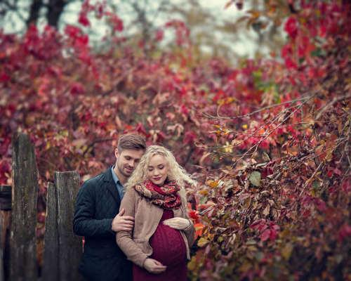Осенняя фотосессия для беременных 5