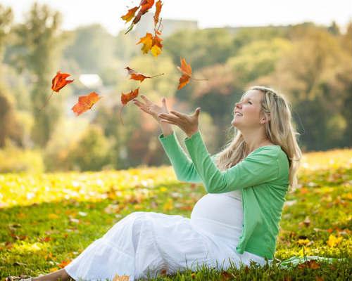 Осенняя фотосессия для беременных 9