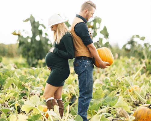 Осенняя фотосессия для беременных 6