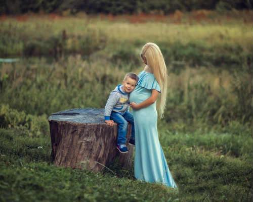 Фотосессия беременных на природе 2