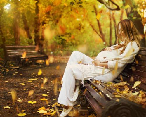 Фотосессия осенью 6