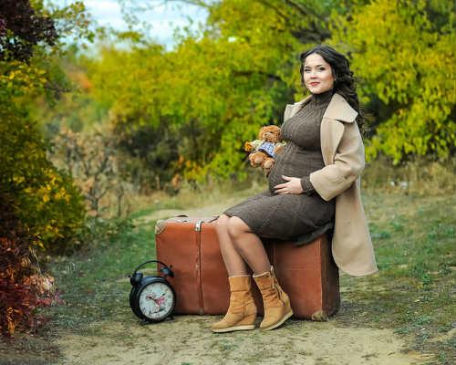 Фотосессия беременных на природе 3