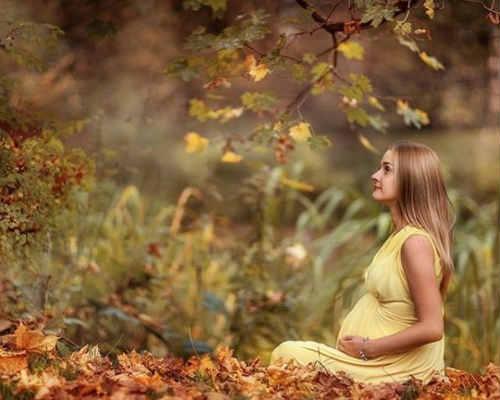Осенняя фотосессия для беременных 3