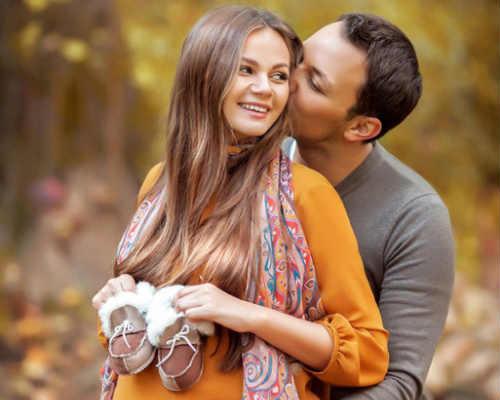 Краски осени: фотосессия для беременных 8