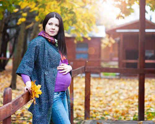 Осенняя фотосессия для беременных 1