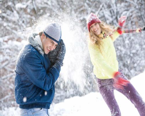 Планы на зиму: игры в снежки