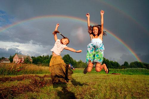 Интересные загадки про радугу для детей