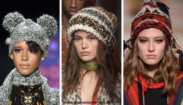 Эксклюзивная коллекция зимних шапок в 2019-2020 году 5