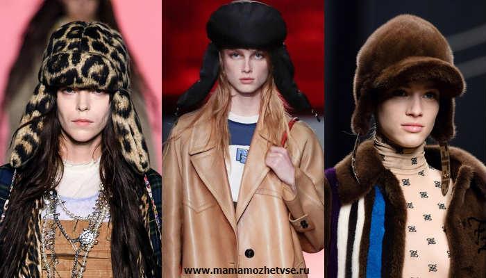 Эксклюзивная коллекция зимних шапок в 2019-2020 году 6