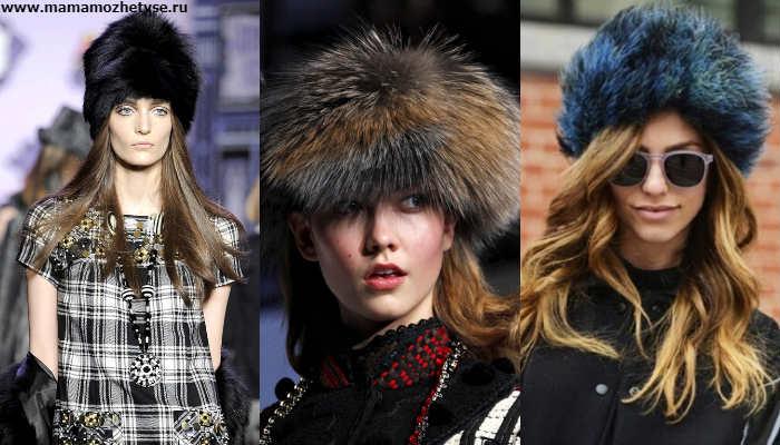 Эксклюзивная коллекция зимних шапок в 2019-2020 году 7