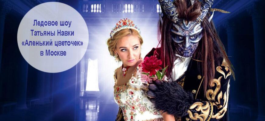 Ледовое шоу Татьяны Навки «Аленький цветочек» в Москве 1