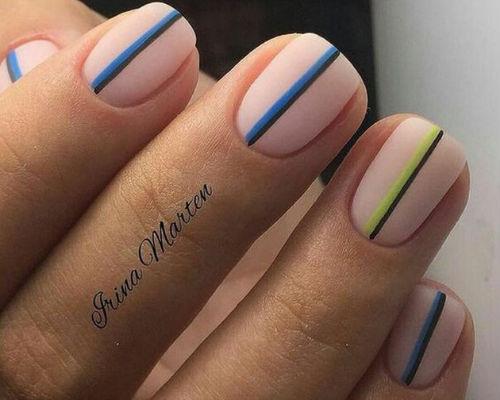 Ногти покрытые гель - лаком 1