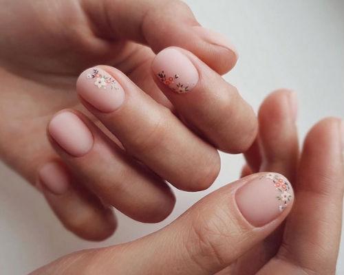 Ногти покрытые гель - лаком 2
