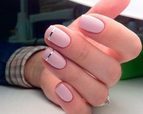 Ногти покрытые гель - лаком 6
