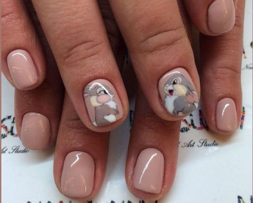 Ногти покрытые гель - лаком 7