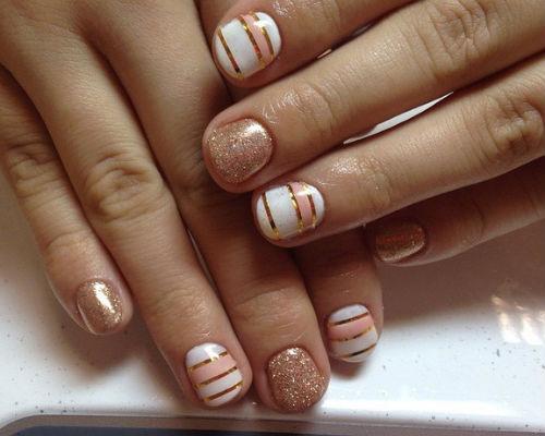 Ногти покрытые гель - лаком 8