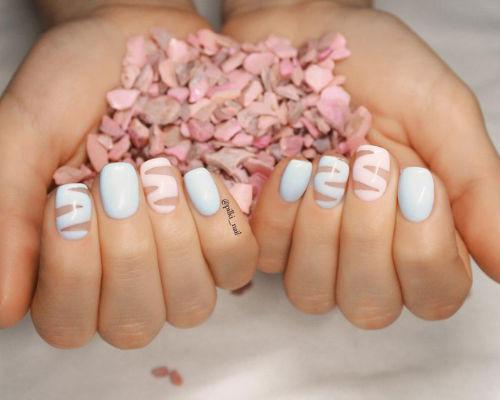 Ногти покрытые гель - лаком 9