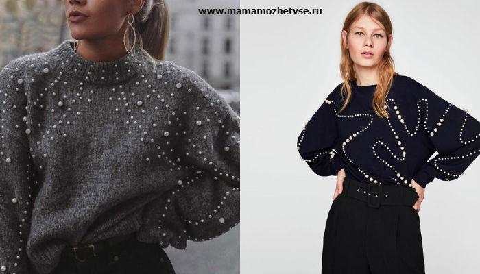 Женские свитера и джемпера в 2019 - 2020 8