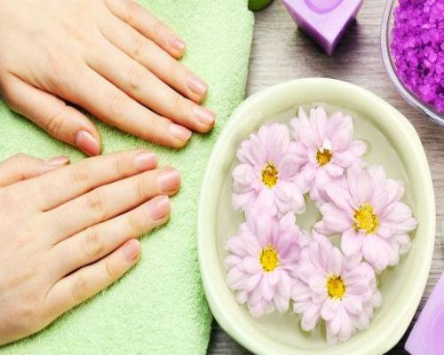 Витаминизированная ванночка для ногтей