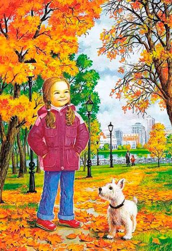 Красивые стихи про осень для детского сада