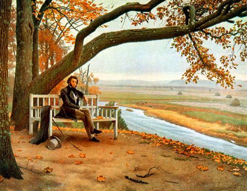 Стихи Пушкина А. С. о природе для детей
