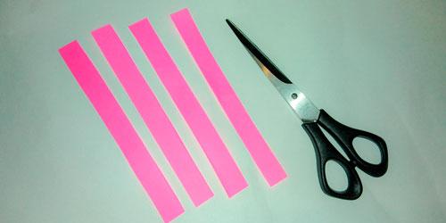 Идея гирлянды из бумаги