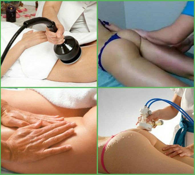 Самые эффективные виды антицеллюлитного массажа