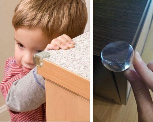 Защита от острых углов для детей в комнате