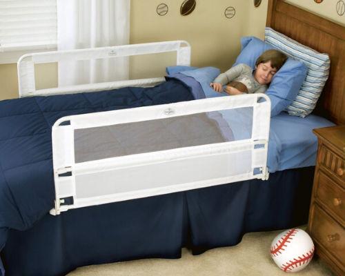 Кроватка с бортиками для безопасности