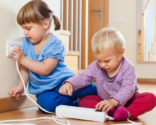 Защита от электричества в детской