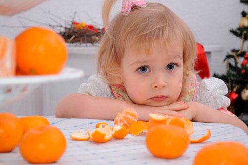 Загадки про мандарин