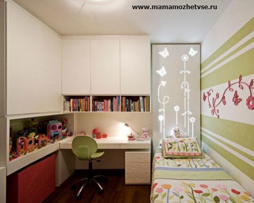Оформление игровой зоны в детской комнате 3