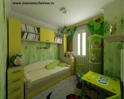 Оформление игровой зоны в детской комнате 5