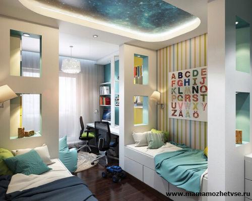 Как обустроить детскую комнату в хрущевке 1