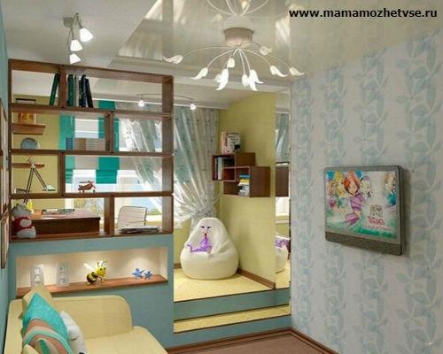 Как обустроить детскую комнату в хрущевке 2