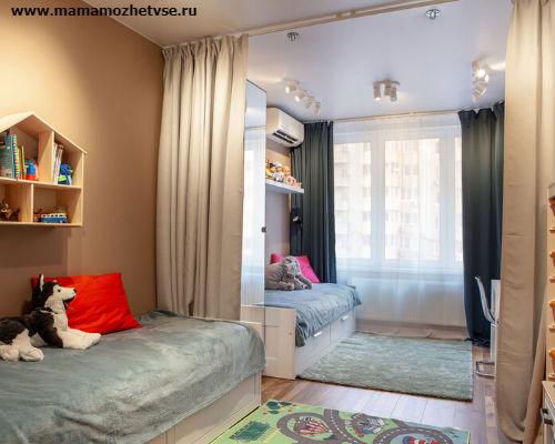 Как обустроить детскую комнату в хрущевке 3