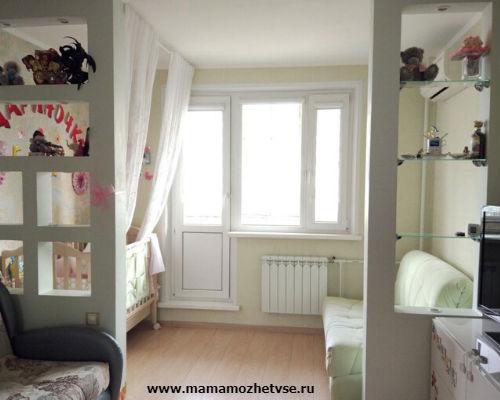 Как обустроить детскую комнату в хрущевке 4