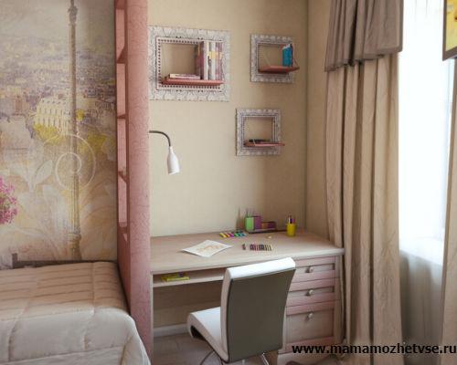 Как обустроить детскую комнату в хрущевке 6