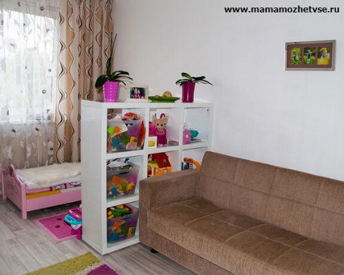 Как обустроить детскую комнату в хрущевке 8