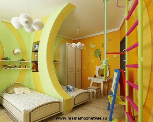Идеи для детской комнаты 7
