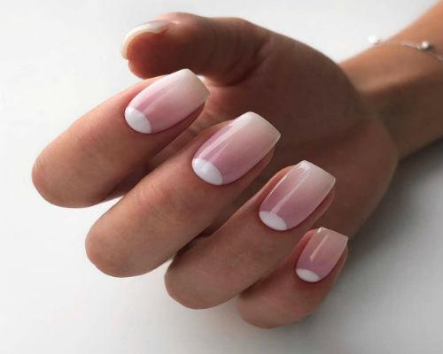 Маникюр зима на длинные ногти